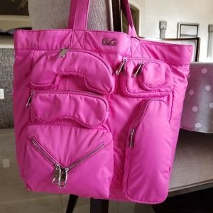 Handbags - Authentic DG DOLCE GABANNA Liz Bag tote Pink. NWT
